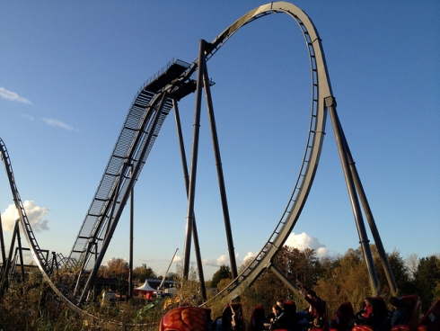 The monstrous Swarm makes its debut this March at Thorpe Park. Image © Neil Zone